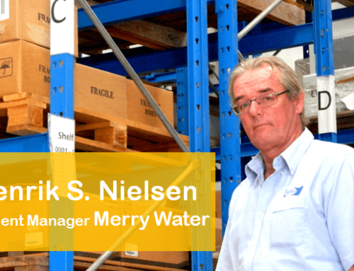 Henrik Nielsen, Resident Manager Merry Water