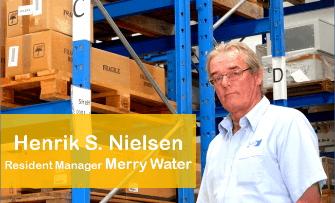 Merry water, one of our customers