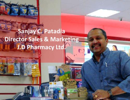 Sanjay C. Patadia, Director Sales & Marketing J.D Pharmacy