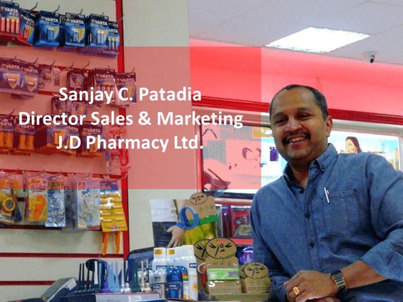 Sanjay JD Pharmacy, one of Exact software module customers